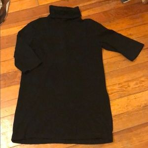 Zara black cotton dress
